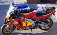 Bike painted by M.A.Nicholls 01235 812561